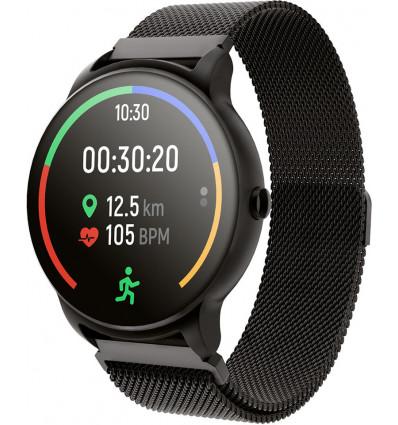 Forever forevive 2 black smartwatch