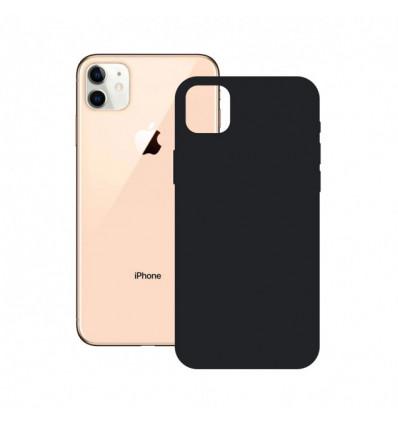 Ksix iphone 12 mini  soft silicone black   funda
