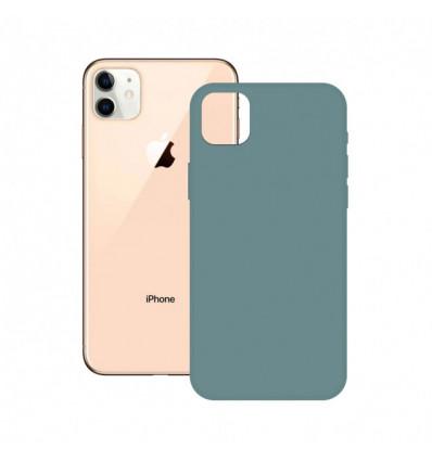 Ksix iphone 12 /12 pro soft silicone  green funda