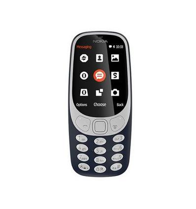 Nokia 3310 ds   blue tel  m