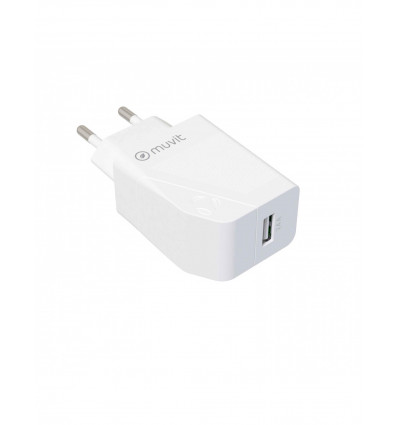 MUVIT FOR CHANGE USB S/CABLE 2 4A 12W  Cargador