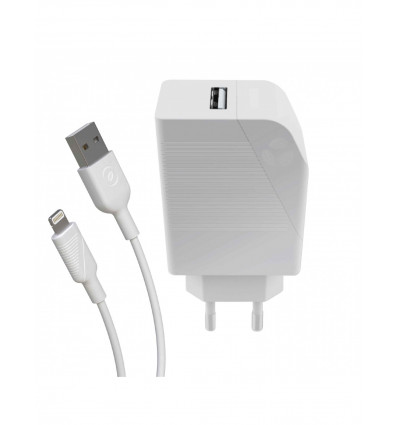 Muvit for change usb 2 4a + cable lightning   carg