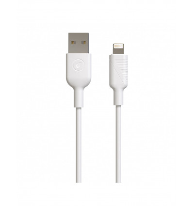 MUVIT FOR CHANGE USB A LIGHTNING 2,4A 3M  Cable