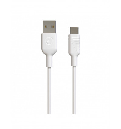 Muvit for change usb a tipo c 3a 0 2m  cable