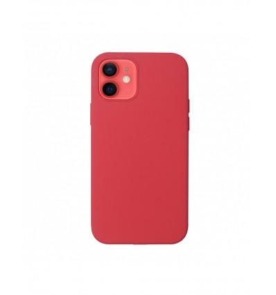 Muvit iphone 12/12 pro liquid   red funda