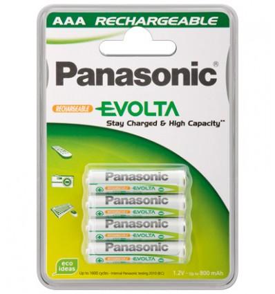 Panasonic blx4 aaa rtu 750mah pila recargable
