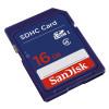 Sandisk 16gb sdhc class4 tarjeta memoria