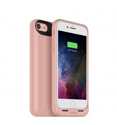 Mophie juice pack air (funda + batería) para iphone 7 (rosa)