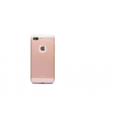 Moshi iglaze armour iphone7 plus rose funda