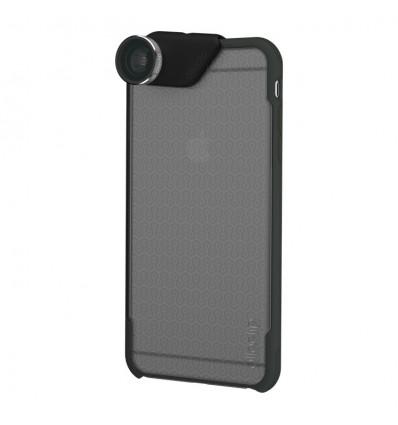 Olloclip 4 en 1 iphone  6+/6s+ (lente y funda) plata