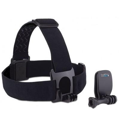 Gopro arnes de cabeza con soporte + clip soporte de gorra para camara de acción gopro