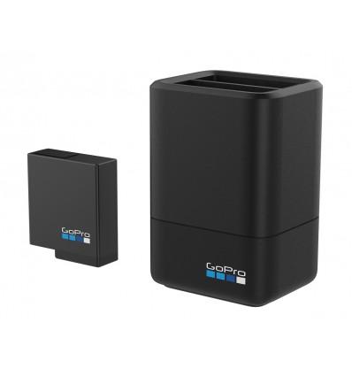 Cargador de Batería Dual + Batería (HERO5 BLACK)