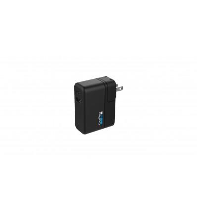 Gopro supercharger ( 2xusb + carga rápida) cargador