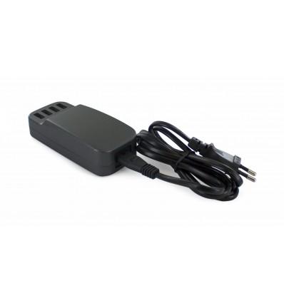 Muvit 4 usb 6 8a cable extraÍble cargador red