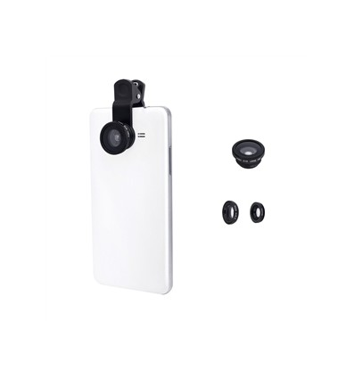 Muvit universal clip 3in1 lens kit gadget