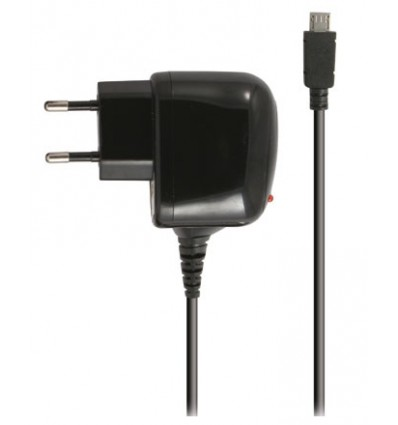 Ksix cargador pared micro usb 1a color negro