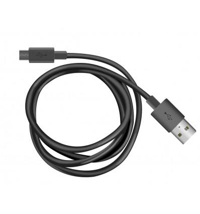 Ksix cable conexión micro usb  3m negro