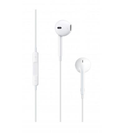Apple auriculares de botón - eearpods con conector jack 3.5 mm para iphone / ipad