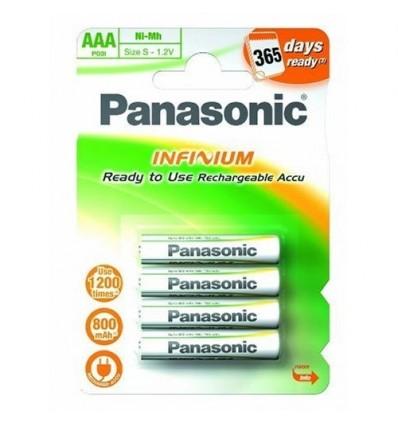 Panasonic infinium 800 aaa pilas