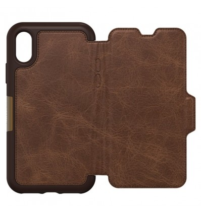 OTTERBOX IPHONE X STRADA BROWN Funda