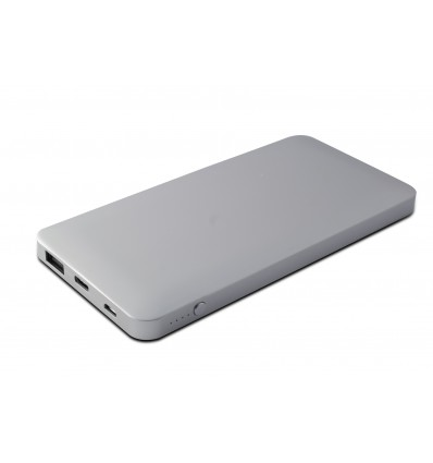 KSIX 10000 M TIPO C,USB + CBL MICROUSB SLV PW Bank