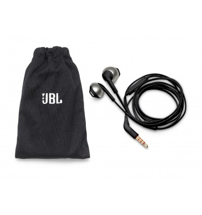 Jbl t205 auriculares de botón in ear color negro