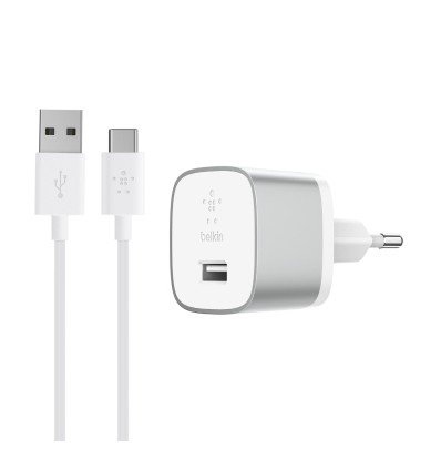 Belkin quick cargador pared + cable tipo c