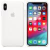 Apple funda de silicona color blanco para iphone xs max