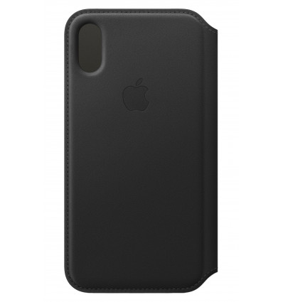 Apple iphone xs le folio black zml funda