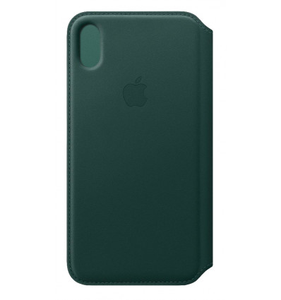 Apple iphone xs max le folio forest green funda