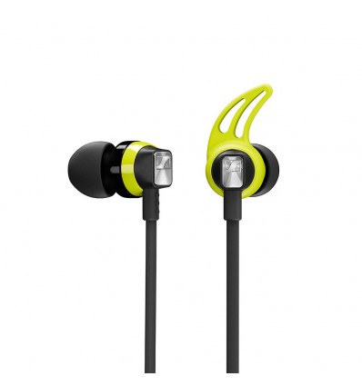 Sennheiser auriculares inalámbricos / bluetooth deportivos color negro / verde