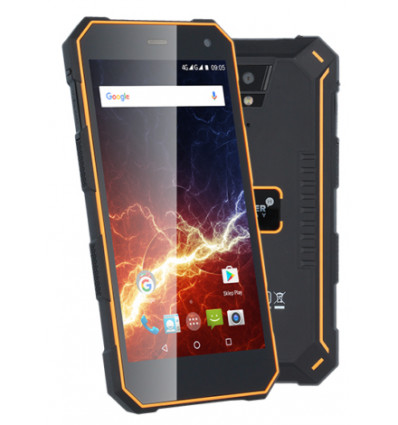 Myphone hammer energy 18x9 telefono movil / smartphone ultraresistente color naranja