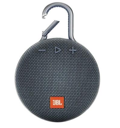 Jbl clip 3 altavoz portátil inalámbrico / bluetooth con clip y resistencia al agua  - color azul