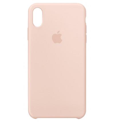 Apple funda de silicona rosa para iphone xs max