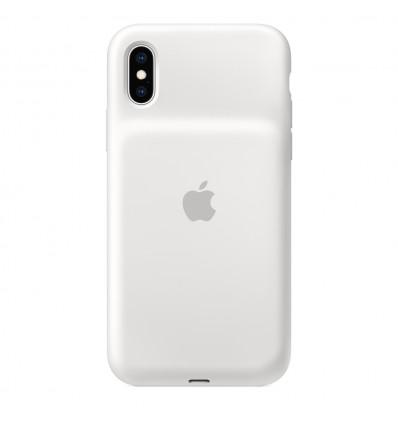 Apple iphonexs smart white funda batería