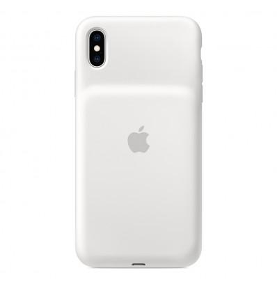 Apple iphone xs max smart white funda bater