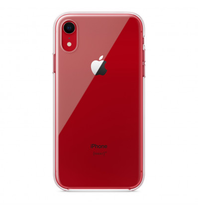 Apple clear iphone xr funda