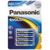 Panasonic blx4 lr03 aaa ev pila alcalina