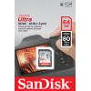 Sandisk ultra tarjeta de memoria sdxc 64gb c10 80mb/s