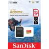 Sandisk ext microsdhc 32gb+sd adap tarjeta memoria