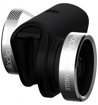 Olloclip iphone 6/6 plus 4in1 silver lens objetivo