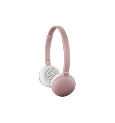Jvc ha-s20bt-p-e auriculares de diadema / cascos inalámbricos / bluetooth de color rosa