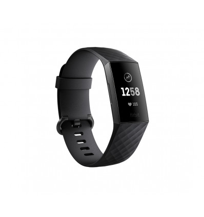 Fitbit charge 3 black    pulsera actividad