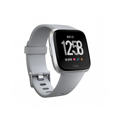 Fitbit versa silver    smartwatch