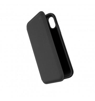 Speck presidio folio black for iphone xr funda