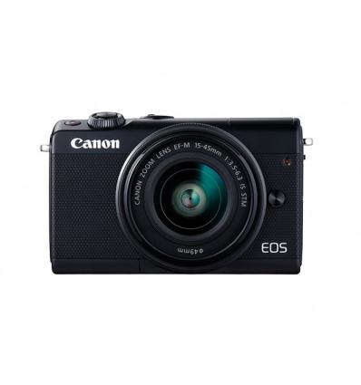 Canon EOS M100 Negra + 15-45mm f/3.5-6.3