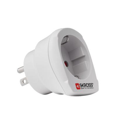 Skross 1,500203 eu to usa single travel adapter