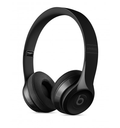 Beats solo 3 wireless gloss black auriculares