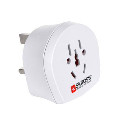 Skross 1 500220 world to uk adapter