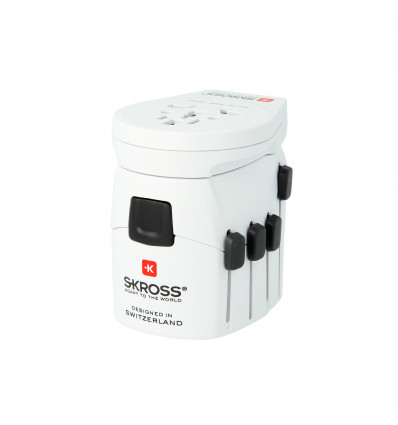 Skross pro world usb 6 3a usb adaptador+cargador